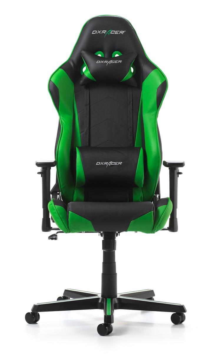 Silla DxRacer Racing Series - Negro/Verde