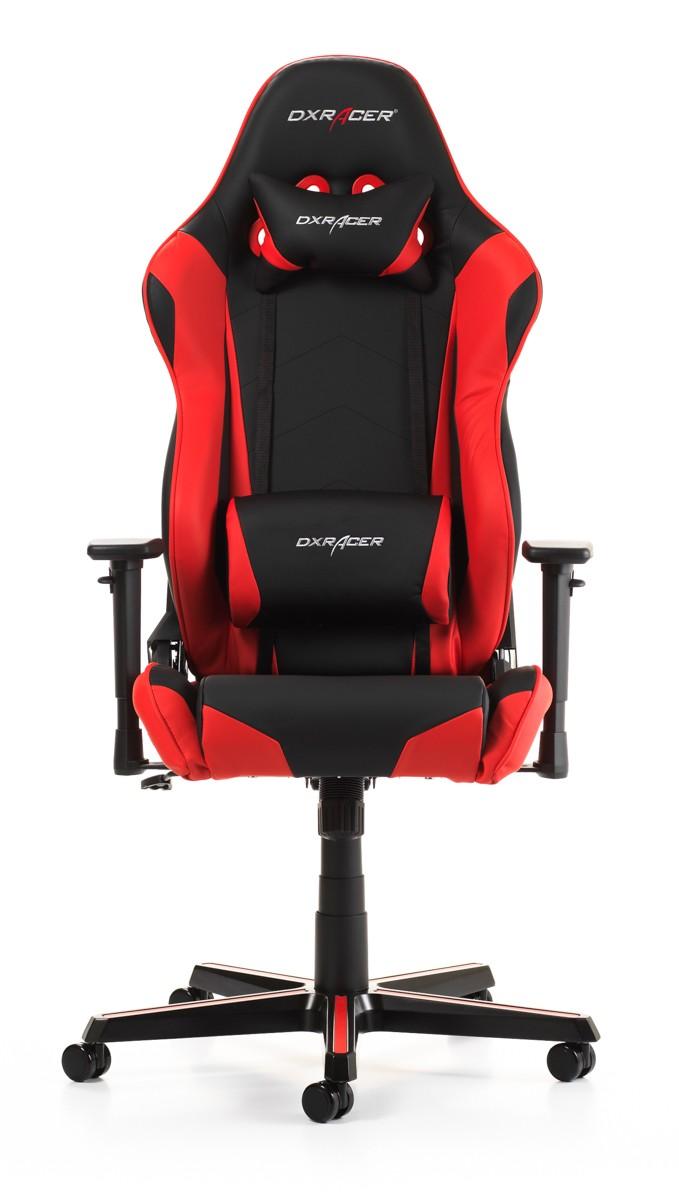 Silla DxRacer Racing Series - Negro/Rojo