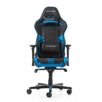 Silla DxRacer Racing Pro Series - Negro/Azul (RV131-NB)
