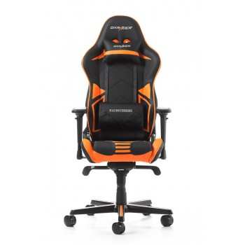 Silla DxRacer Racing Pro Series - Negro/Naranja (RV131-NO)
