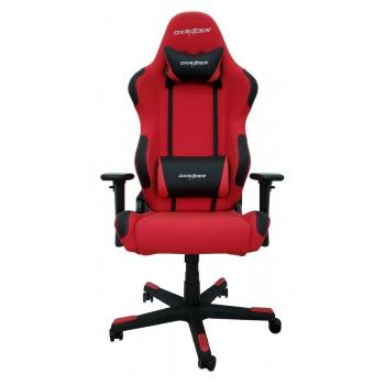 Silla DxRacer Racing Textil Series - Rojo/Negro (R01-RN)