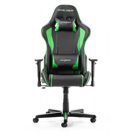 Silla DxRacer Formula Series - Negro/Verde