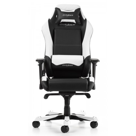 Silla DxRacer Iron Series - Negro/Blanco (IS11/NW)