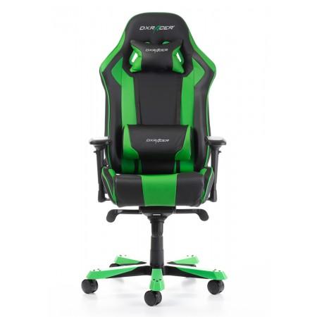 Silla DxRacer King Series - Negro/Verde
