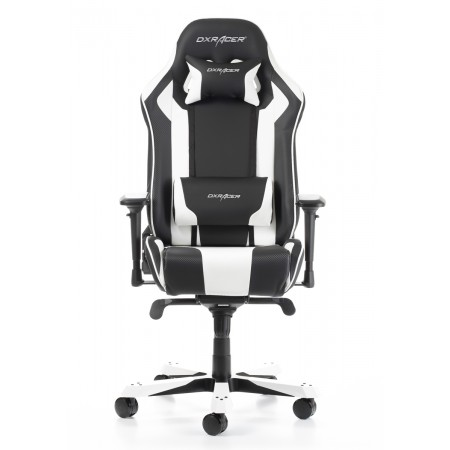 Silla DxRacer King Series - Negro/Blanco