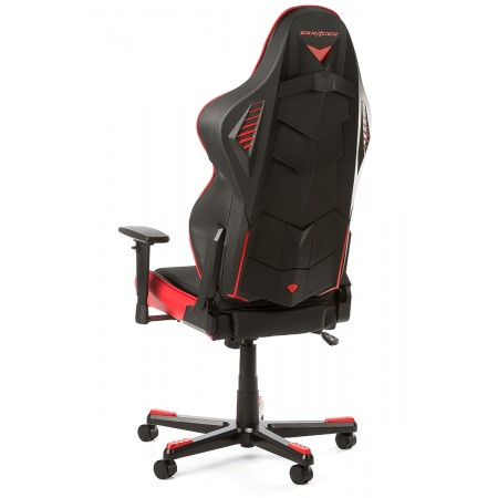 Silla DxRacer Racing Shield Series - Negro/Rojo (RB1/NR)