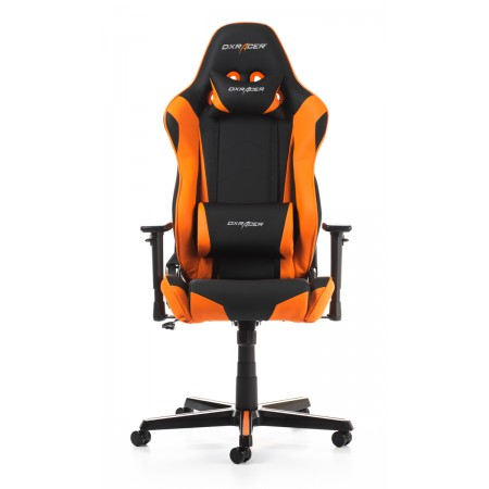 Silla DxRacer Racing Series - Negro/Naranja (RV001-NO)