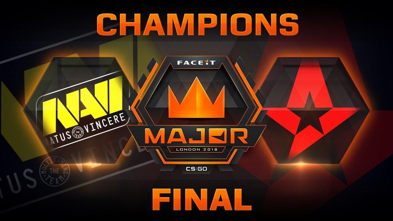 CS:GO: Astralis derrota a NaVi y se corona campeón del FACEIT Major 2018